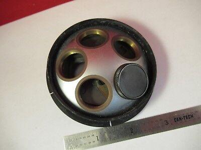 Pour Pièces Leitz Wetzlar Allemagne Tourelle Laiton Microscope Pièce 2