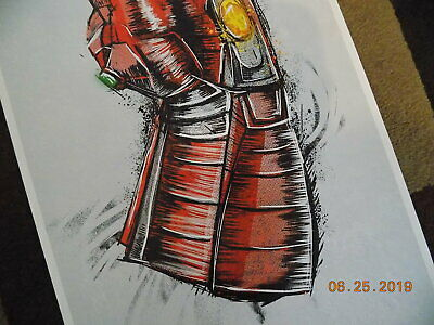 """Avengers: End Game ( 11"""" x 17"""" ) Movie Collector's Re-Release Poster Print 4"""