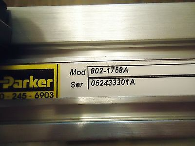 New Parker 802-1758-A Electromechanical Positioning Systems Serial#052433301A