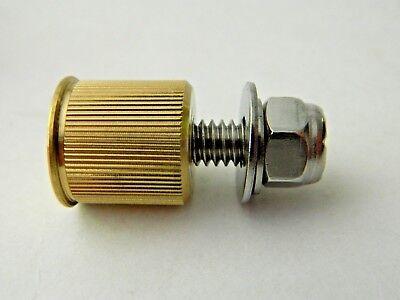 NEW 4 pk Milwaukee Twins 20 Gauge Brass Shotgun Shell Bullet License Plate Bolts 5