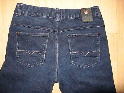 Worn Once Boys Hugo Boss Slim Fit Stretch Straight Leg Dk Blue Jeans Age 12-14 6