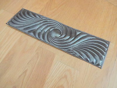 Bronze Finish Art Nouveau Finger Door Push Plates Fingerplate 2 • CAD $45.36