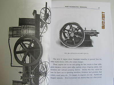 Gilson Manufacturing Co Gas Engine Information Type Catalog Manual 5