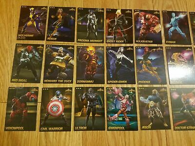 All Foil $9.99 Each Marvel Contest of Champions Cards Rare Cards Choose! 2