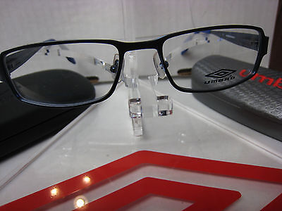 1b4d8b90896a ... UMBRO EYEGLASSES FRAME U843 in BROWN 47-17-135 DEMO WITH CASE AUTHENTIC  2