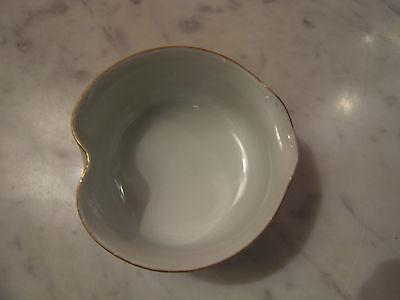 Vintage Possibly Antique Japanese Signed 5 Piece Porcelain Sake Set w/ Flowers