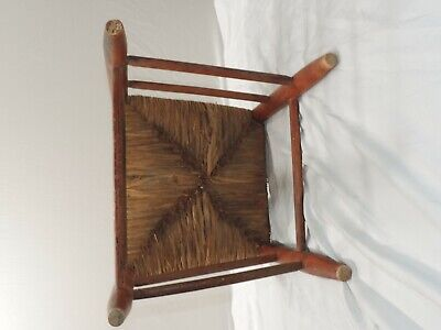 Hitchcock Chair Rush Seat With Stenciling 1930-1940S 5