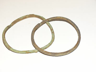 Perfect  Bronze Migration Period Bracelets.  The Nomads.Hunnu.  ca 3-6 AD. 5