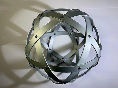 Genesa Pentasfera diametro 21 cm alluminio satinato argento profilo 1,5 cm 4