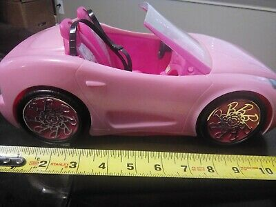 Mattel Barbie Pink Glam Convertible Doll Vehicle 2010.EUC 3