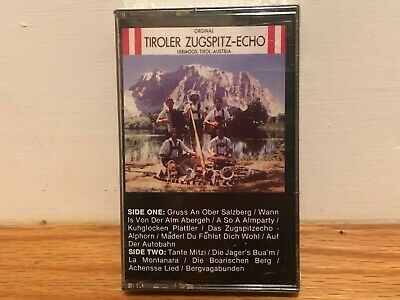 Tiroler Zugspitz Echo Folklore Songs From Tirol Cassette Factory Sealed 5