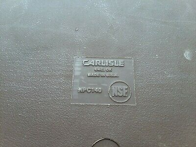 Carlisle NPC140 Insulated Food Carrier 4 Inches Deep 4