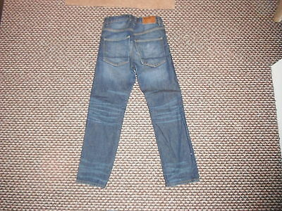 """And & Relaxed Jeans Waist 27"""" Leg 24"""" Faded Dark Blue Boys 10/11 Yrs Jeans 3"""