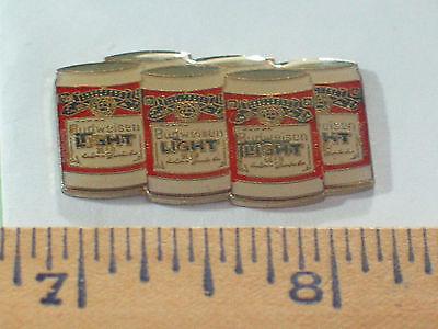 ... Vintage Budweiser U0026 Bud Light 6 Pack Beer Pin