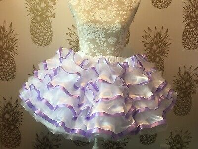 Made To Measure * Sissy Maid * Huge Ten Layer Satin And Organza Petticoat 4