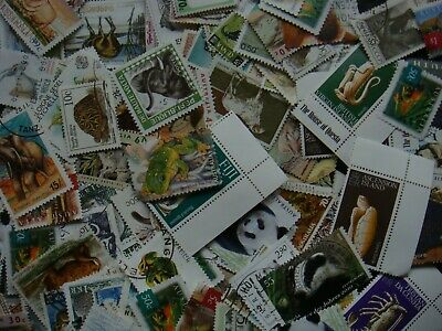 50 ANIMAL Stamps All Different Thematic World Mixed CTO's/Genuine Postage 3