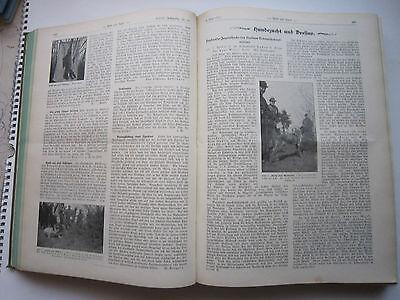 """""""Wild und Hund""""  23. Jahrgang Januar - Dezember 1917, Hege,Pirsch 8"""