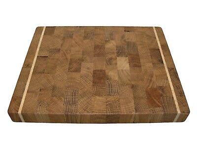 Butcher Block, Wood, Handmade, Cutting Board End Grain with Feet, Chopping Board 4