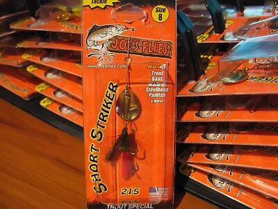 Glo-Trout 231-Size 8 Joe/'s Flies Spinner Bait Short Striker Factory USA