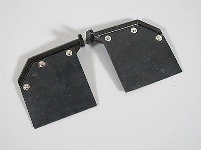 Pair White Mud Flap Guards /& Mounting Plate for Tamiya RC 1//14 King Grand Hauler