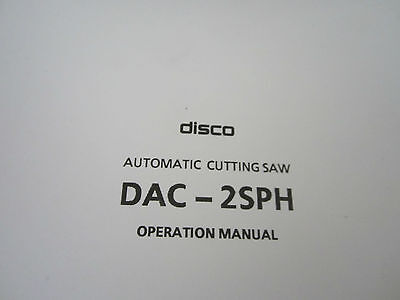 Original Manual Disco Automatic Cutting Saw Dac-2Sph 3