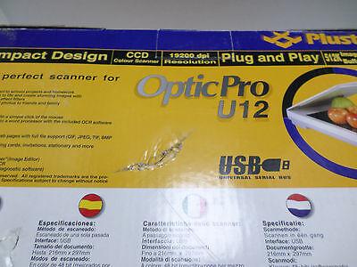 PLUSTEK OPTIC PRO U12 DRIVER WINDOWS XP