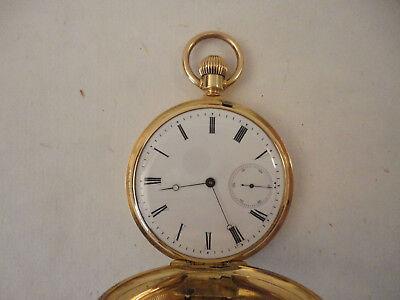 Taschenuhr Patek Philippe 18ct Gelbgold um 1870 Savonette 6