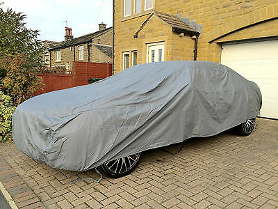 Mercedes S-Class W220 98-05 Heavy Duty Fully Waterproof Car Cover Cotton Lined 3