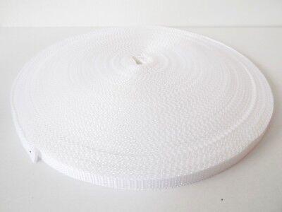 20mm Polypropylene Webbing 10m 20m 50m and 100 metre rolls