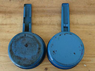 T8496 Esmaltada Sartén-2 Sartenes-Esmalte-Esmaltado - Azul - Konvolut 7