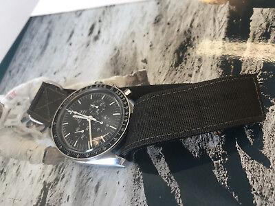 NASA strap for Omega Speedmaster Moonwatch with original VELCRO® Brand fastener