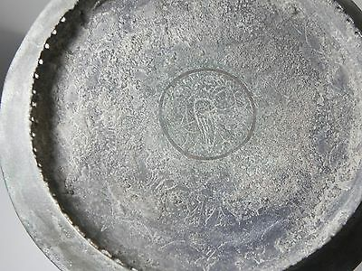 Zurqieh - Beautiful Islamic Bronze Oil Lamp With Stand , Khorasan , 11Th Century