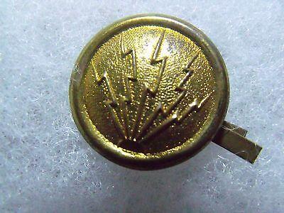 Scarce Span Am Artillery Electrician Sergeant Helmet Overlay & Side Buttons 3