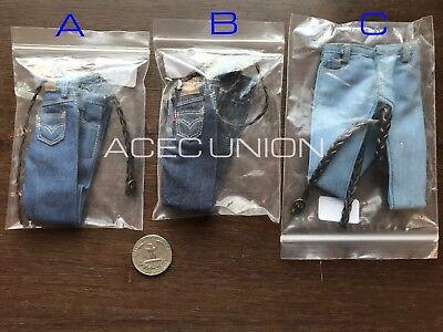 "1//6 Baseball Jacket Jeans Set A For 12/"" Phicen Hot Toys Female Figure USA SELLER"