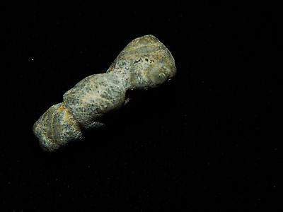 Pre-Columbian Jade Pendant Bead, Translucent Jade, Nicoya, Authentic 3