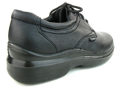 704b5fb522d6 ... Men s Kitchen Non-slip Lace Up Working Skid Resistance Shoes Synthetic  Black 4