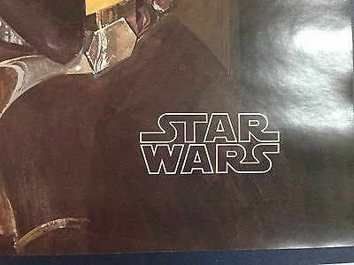 Original Set Of 4 Star Wars Posters - Burger Chef 1977****Guaranteed Quality*** 6