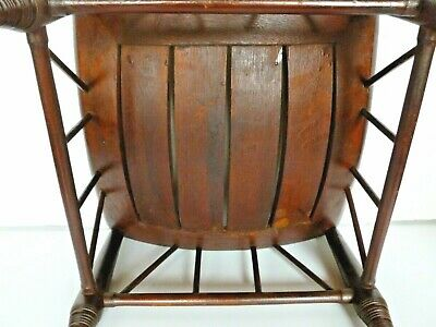 Antique Thebes Stool Wooden Egyptian Revival Arts and Crafts Period Circa 1900 8