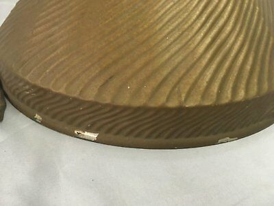 Vintage Industrial X Ray Curtis Mirrored Mercury Glass Shade Steampunk 103-18E 3