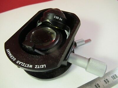 Leitz Wetzlar Allemagne Condenseur + Iris Microscope Pièce comme sur Photo # 2