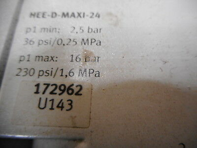 FESTO AIR SERVICE UNIT - LOCK-OUT - FILTER - PRESSURE SWITCH and MORE!! 4