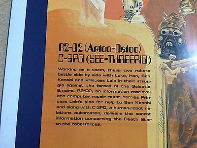 Original Set Of 4 Star Wars Posters - Burger Chef 1977****Guaranteed Quality*** 2