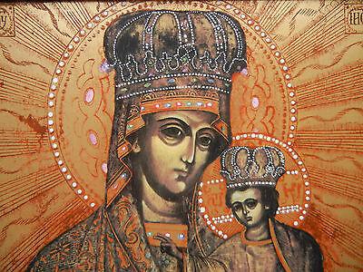 Heinrich talla Icono del año 1993 Madre de dios Spornica Gresnych Revisited