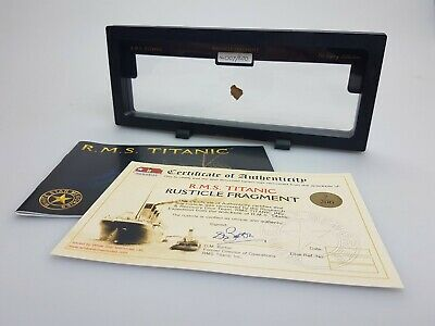 """Genuine RMS TITANIC - 'Legacy Collection' """"Rusticle"""" Fragment 3"""
