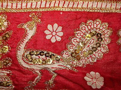 Ladies Indian Pure Silk Saree With Zari Work 7