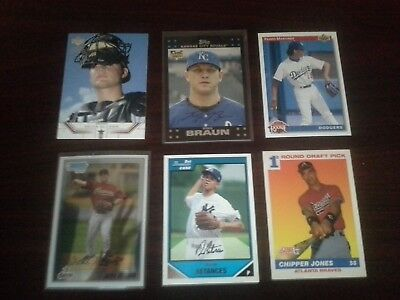 HUGE LOT OF 3000 Baseball Cards, 1970's-2000's, 100+ Rookies, Free Shipping!!!! 3