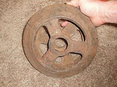 Vintage Farm Equipment Steel Wheel Man Cave Decor  Roller Dirt Packer 7