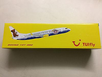100 Jahre Bärenmarke Boeing 737-800 1:100 XL Herpa Snap-Fit TUIfly NEU