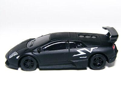 Kyosho 1 72 Lamborghini Murcielago Lp670 4 Sv Matt Black Diecast
