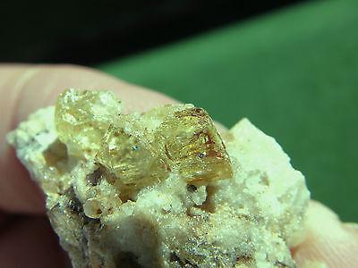 """Minerales """" Fantastico Cristal(Gema) De Apatito De Marruecos En Matriz-12C13 """" 2"""